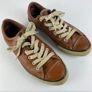Converse Unisex Leather Sneakers Men  SZ8 Women 10